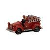Woodland Imports Wonderful Polystone Fire Truck Piggy Bank