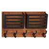 Woodland Imports Metal Wall Letter Holder