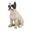 Woodland Imports Superb Unique Styled Polystone Sitting Dog Statue