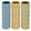 Woodland Imports Wonderful Styled Ceramic Vase (Set of 3)