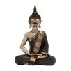 Woodland Imports Simply Divine Polystone Sitting Buddha Figurine