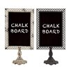 Woodland Imports Metal Blackboard (Set of 2)