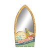 Woodland Imports Exclusive Beach Themed Wood Wall Mirror
