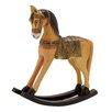 Woodland Imports Simply Beautiful Wood Rocking Horse Figurine