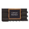 Woodland Imports Fantastic Wood ChalkBoard Hook