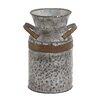Woodland Imports Asiatic Antique Metal Galvanized Milk Pitcher