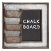 Woodland Imports Fascinating Styled Wall Décor Chalkboard