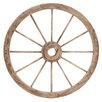 Woodland Imports The Simple and Exceptional Wagon Wheel Wall Decor