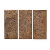 <strong>Assorted Paris Map 3 Piece Framed Graphic Art Set</strong> by Woodland Imports