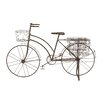 Woodland Imports Antique Metal Bicycle Planter