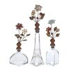 Woodland Imports 3 Piece Opaque Manhattan Decorative Bottle Set