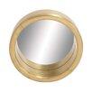 Woodland Imports Porthole Clad Wall Mirror