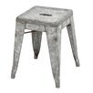 "<strong>Woodland Imports</strong> Classic 17"" Bar Stool"
