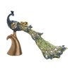 <strong>Victorian Themed Peacock Figurine</strong> by Woodland Imports