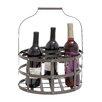Woodland Imports 7 Bottle Hanging Wine Rack