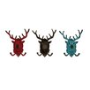 <strong>Woodland Imports</strong> Deer Hook (Set of 3)