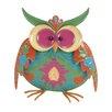 Woodland Imports Treetop Mottled Owls Figurine