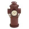 Woodland Imports Rustic Metal Clock