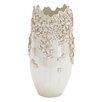 Woodland Imports Ceramic Victoria Floral Vase