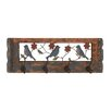 <strong>British Styled Coat Rack</strong> by Woodland Imports