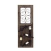 <strong>Woodland Imports</strong> Italian 5 Bottle Wall Mounted Wine Rack
