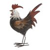 Woodland Imports Tuscan Rooster with Mocking Head Figurine