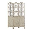 "Woodland Imports 72"" x 51"" Francisco 3 Panel Room Divider"