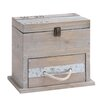 Woodland Imports Wooden Box with Drawer