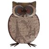 Woodland Imports Metal Smart Owl Figurine