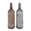 <strong>Woodland Imports</strong> 2 Piece Ceramic Vase Set