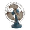 <strong>Metal Accent Fan Figurine</strong> by Woodland Imports