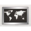 Woodland Imports Abstract Map Cloud Framed Graphic Art