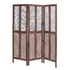 "<strong>Woodland Imports</strong> 72"" x 60"" 3 Panel Room Divider"