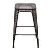 """<strong>Woodland Imports</strong> Metal 26"""" Barstool"""