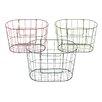 Woodland Imports Vintage French Market Baskets (Set of 3)