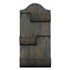 Woodland Imports Wood and Metal Coat Rack