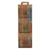 Woodland Imports Lexington Wood and Metal Wall Rack