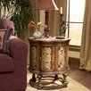 <strong>Heritage Scalloped Antique End Table</strong> by Butler