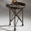 <strong>Metalworks Round X End Table</strong> by Butler