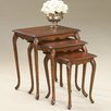 <strong>Butler</strong> Plantation Cherry 3 Piece Nesting Tables