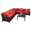 RST Outdoor Cantina 6 Piece Deep Seating Group with Cushions