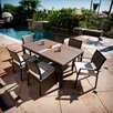 <strong>Zen 7 Piece Dining Set</strong> by RST Outdoor