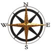 <strong>Boreas Compass Wall Décor</strong> by Fetco Home Decor