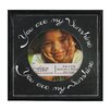 <strong>Fetco Home Decor</strong> Expressions Soeil Black Expression 4X4 Sunshine Picture Frame