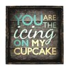 <strong>Malcolm You Are The Icing On My Cupcake Textual Art</strong> by Fetco Home Decor