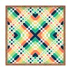 DENY Designs Budi Kwan Retrographic Rainbow Square Tray