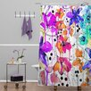 DENY Designs Holly Sharpe Lost in Botanica Shower Curtain