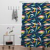 DENY Designs Heather Dutton Swizzlestick Party Girl Shower Curtain