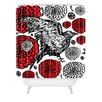 DENY Designs Julia Da Rocha Raven Rose Shower Curtain