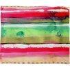 DENY Designs CayenaBlanca Ink Stripes Fleece Throw Blanket